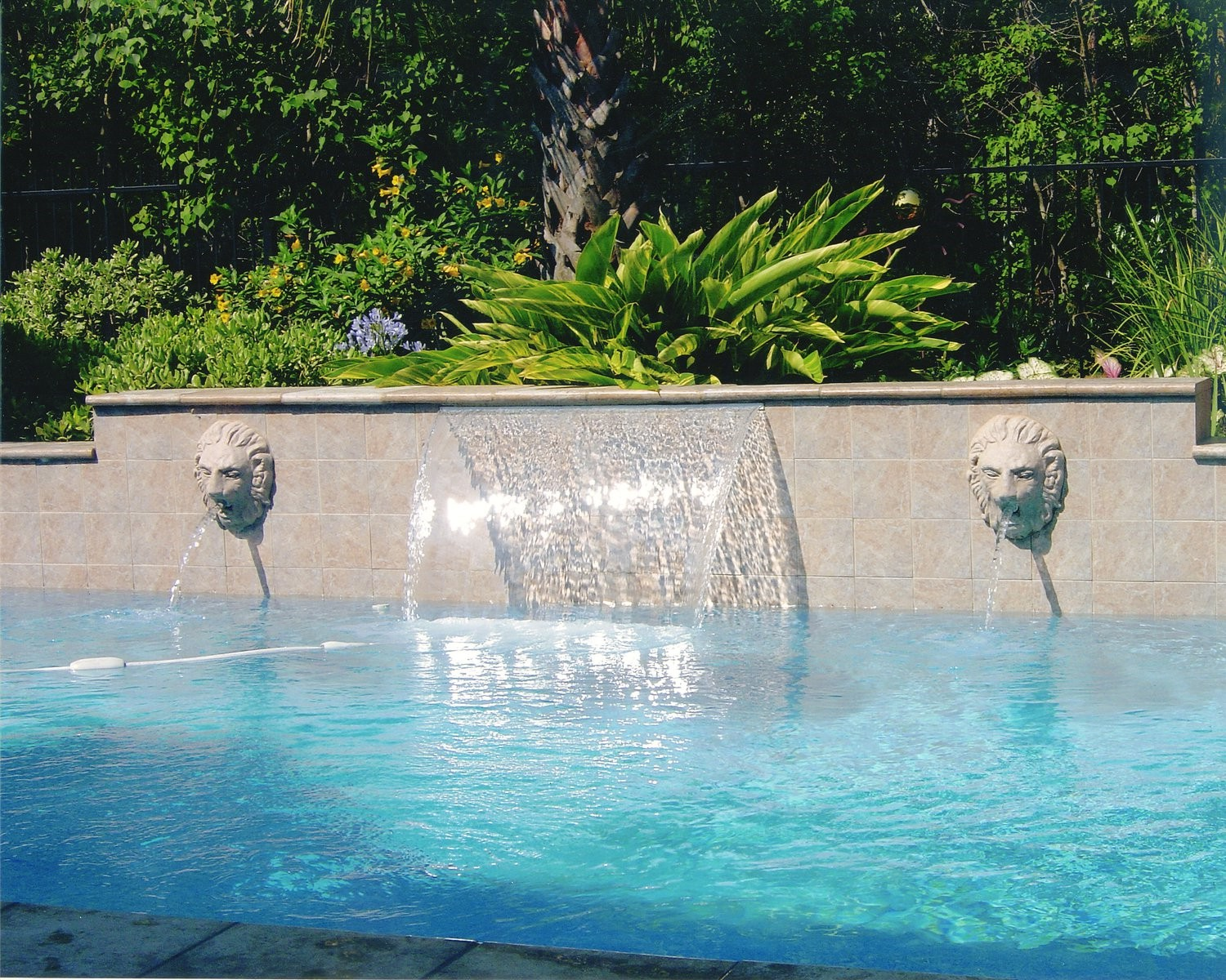 Custom pool cypress spring tomball katy houston for Pool design katy tx