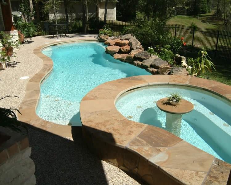 Houston custom pool cypress spring tomball katy for Pool design katy