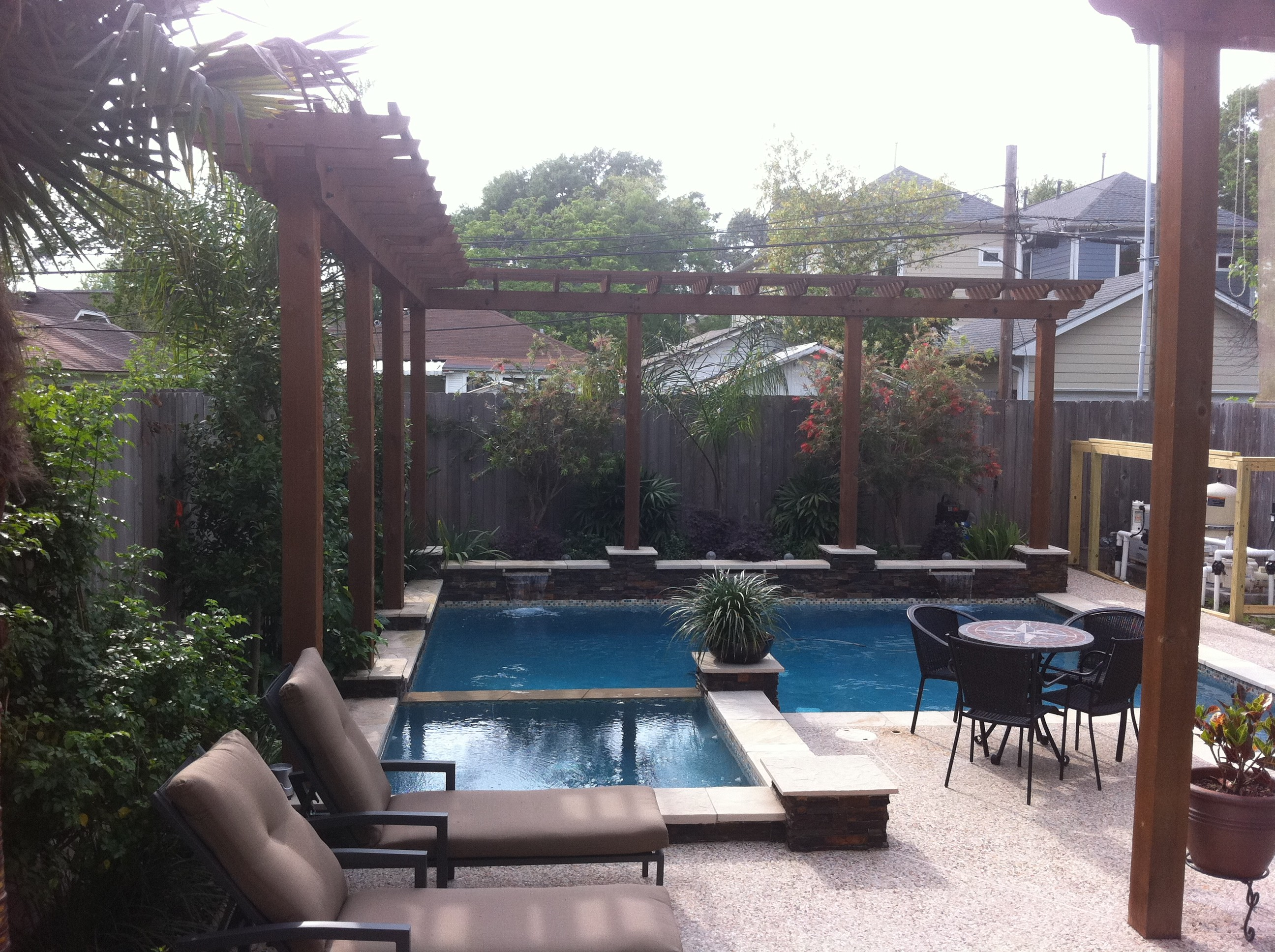 Tomball pool designs katy kingwood cypress spring for Pool design katy tx
