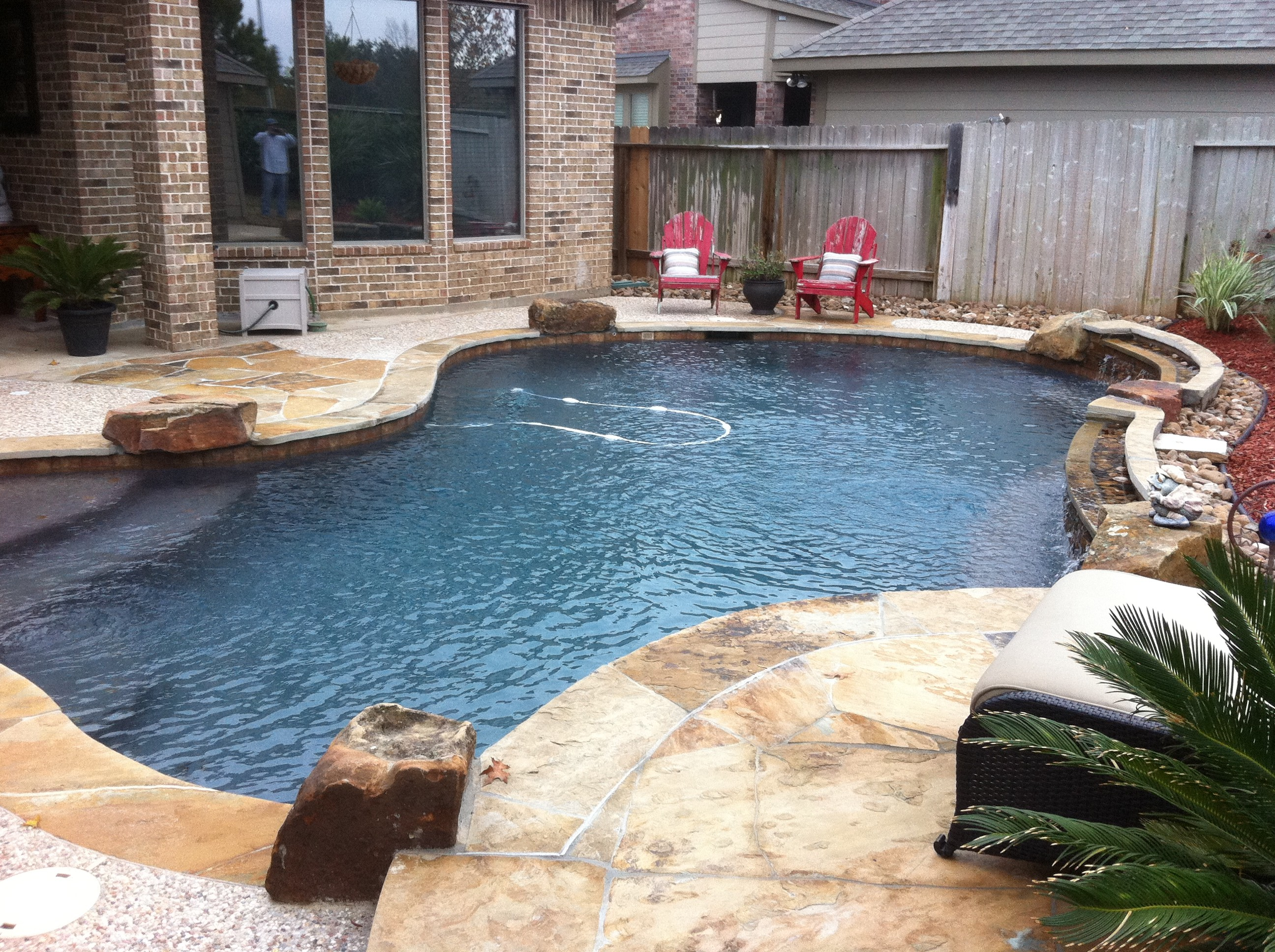 Tomball pool designs katy kingwood cypress spring for Pool design katy