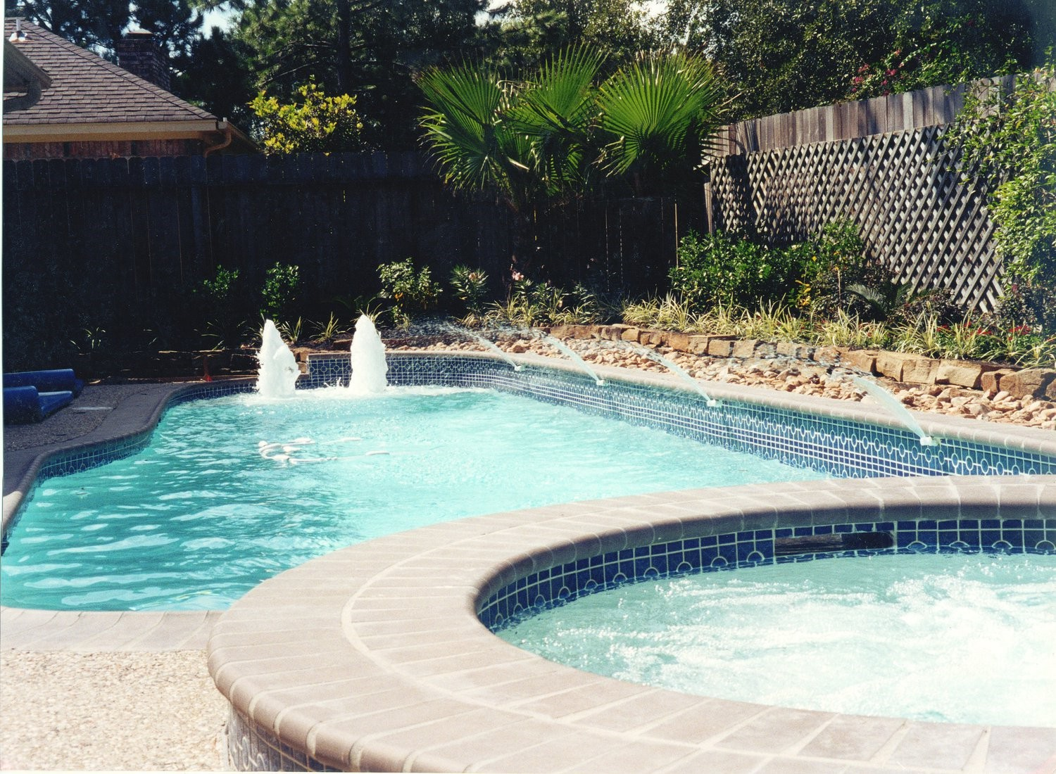 Houston Pool Designs Spring Tomball Katy Cypress