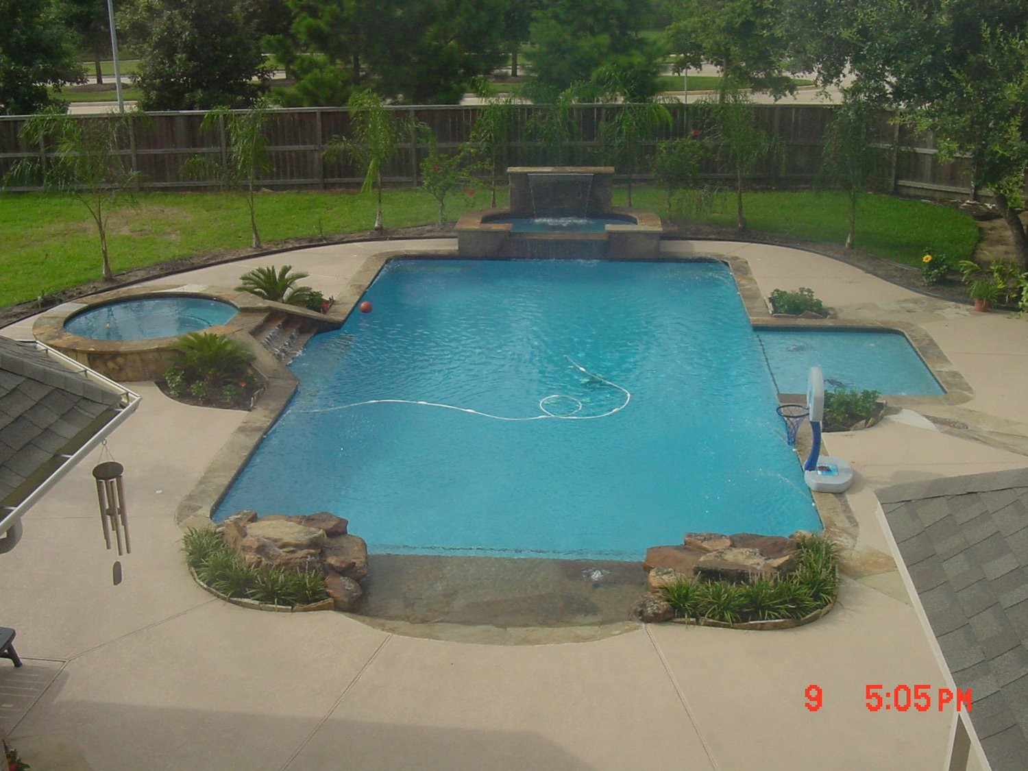 Pool designs cypress spring tomball katy kingwood for Pool design katy